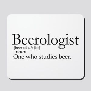 BeerologistDark Mousepad