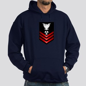 Navy Machinist's Mate First Class Hoodie (dark)