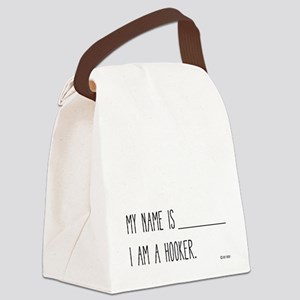 I am a Hooker Canvas Lunch Bag