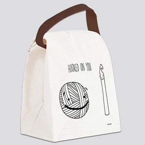 Hooked On You Canvas Lunch Bag