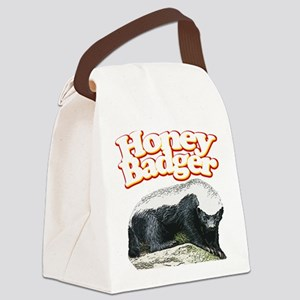 Honey Badgers Canvas Lunch Bag