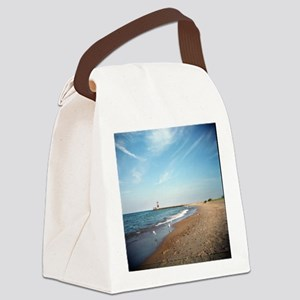 Lake Michigan Canvas Lunch Bag