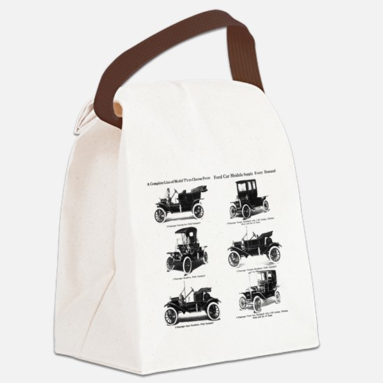Ford Model T - 1911 Ad Canvas Lunch Bag