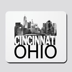 Cincinnati Skyline Mousepad