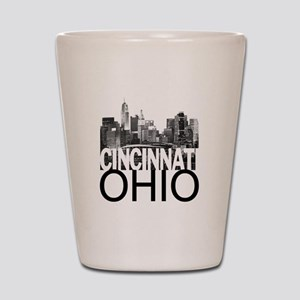 Cincinnati Skyline Shot Glass