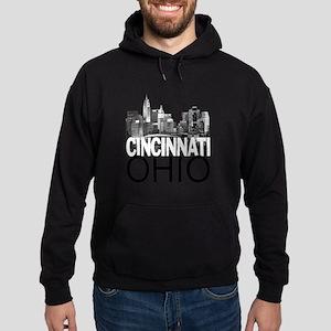 Cincinnati Skyline Hoodie (dark)