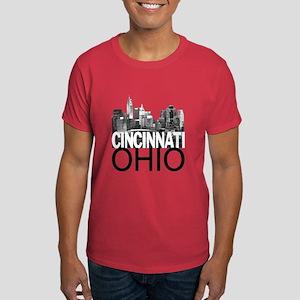 Cincinnati Skyline Dark T-Shirt