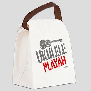 Ukulele Playah Canvas Lunch Bag