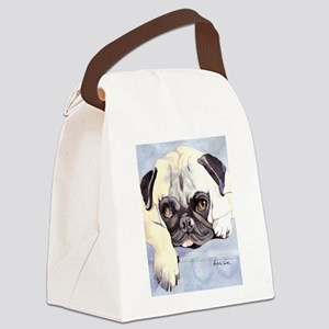 Pug Stuff! Canvas Lunch Bag