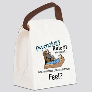 Therapy Canvas Lunch Bag