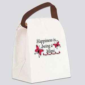 Butterfly Being A Mimi Canvas Lunch Bag