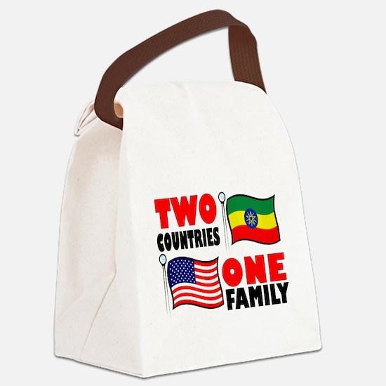 Unique Ethiopian Canvas Lunch Bag