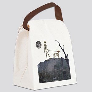 walk in the cemetery Canvas Lunch Bag