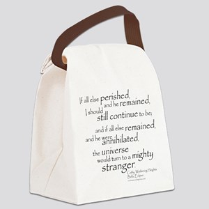 Cathy Canvas Lunch Bag