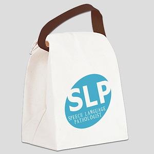 Speech Language Pathologist Canvas Lunch Bag