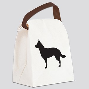 German Shepard Canvas Lunch Bag