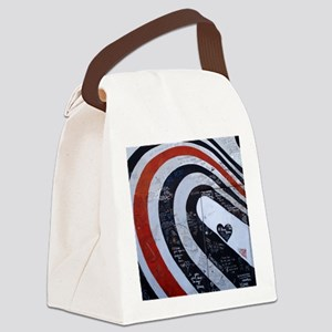Elliott Smith Wall Canvas Lunch Bag
