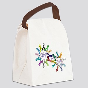 Hope For A Cure Canvas Lunch Bag
