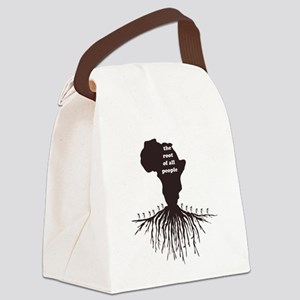 African Roots Canvas Lunch Bag
