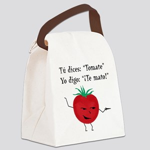 Tomate Canvas Lunch Bag