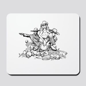 Disc Golf Outlaw Style Mousepad
