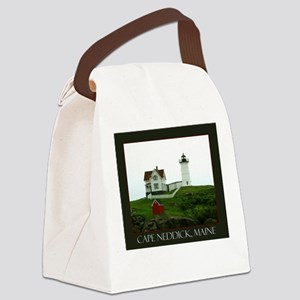 Cape Neddick, Maine Canvas Lunch Bag