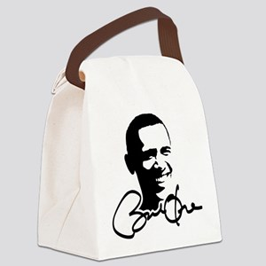 obama_autograph Canvas Lunch Bag