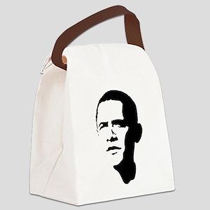 obama_portrait Canvas Lunch Bag