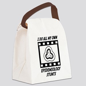 Epidemiology Stunts Canvas Lunch Bag