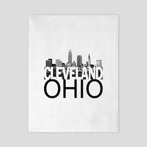 Cleveland Skyline Twin Duvet
