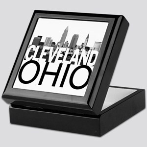 Cleveland Skyline Keepsake Box