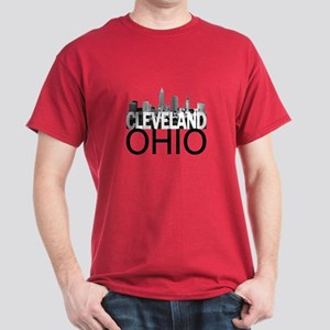Cleveland Skyline Dark T-Shirt