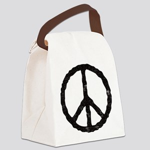 peace_v Canvas Lunch Bag