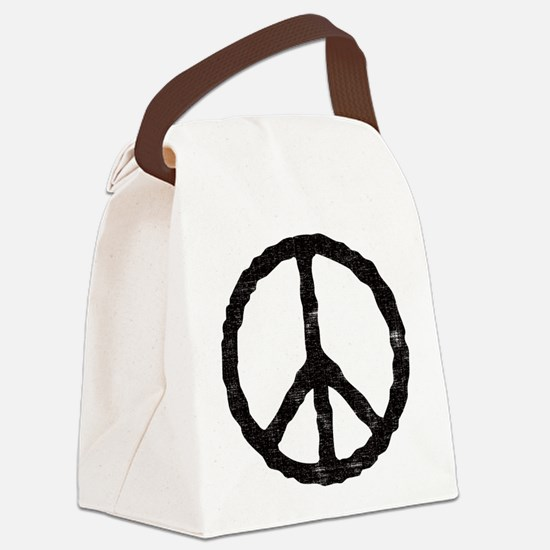 peace_v.png Canvas Lunch Bag