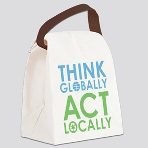 global_local Canvas Lunch Bag