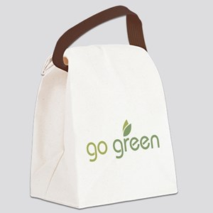 go_green2 Canvas Lunch Bag