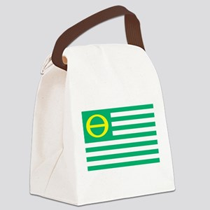 ecology_flag Canvas Lunch Bag