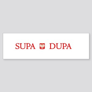 Supa Dupa Bumper Sticker