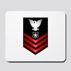 Navy Master at Arms First Class Mousepad