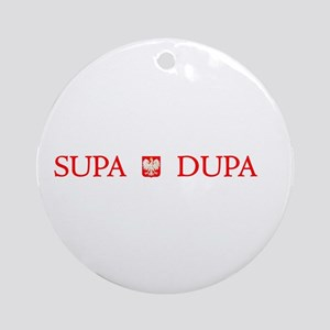Supa Dupa Ornament (Round)