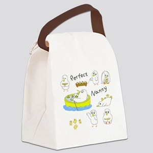 Perfect Nanny Canvas Lunch Bag