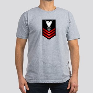 Navy Master at Arms First Class Men's Fitted T-Shi
