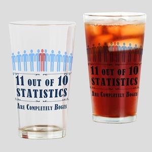 Statistics Drinking Glass