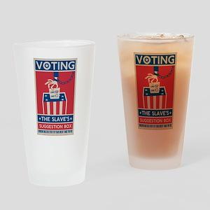Voting Drinking Glass