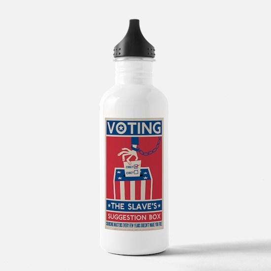 Voting Water Bottle