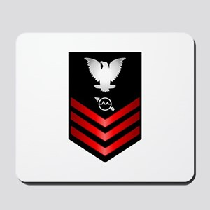 Navy Operations Specialist First Class Mousepad