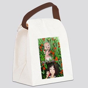 Fruits Flavor Canvas Lunch Bag