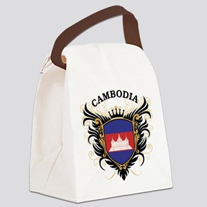 Cambodia Canvas Lunch Bag