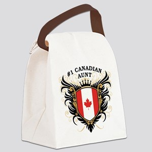 n1_canadian_aunt Canvas Lunch Bag