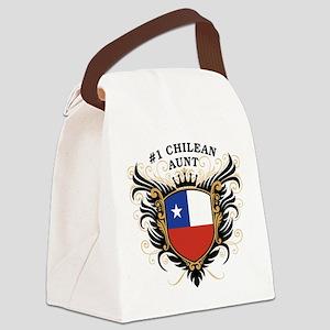 n1_chilean_aunt Canvas Lunch Bag